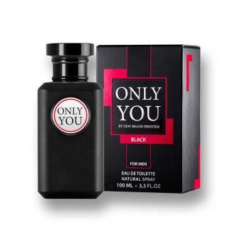 New Brand Only You Black men 100ml