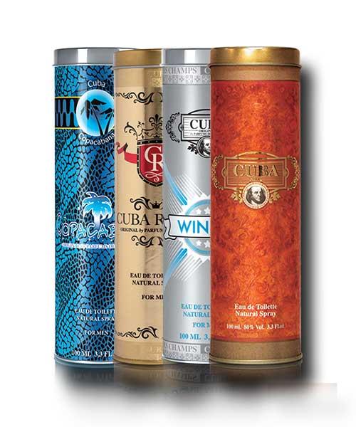 Cuba Parfümök Saját Importból