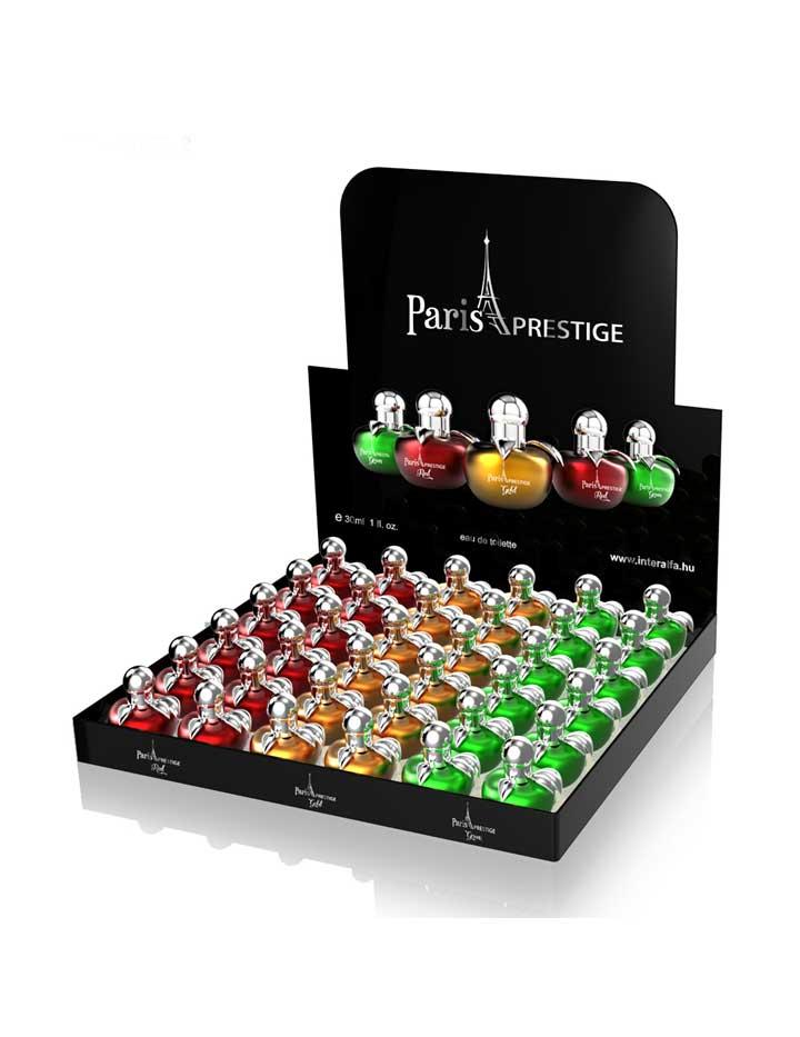 Paris Prestige Parfümök display